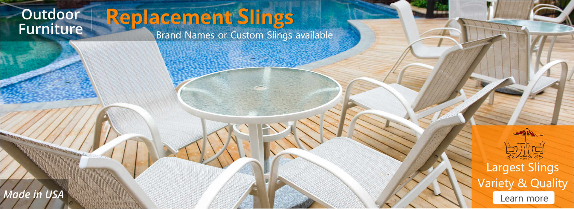 Replacement Slings Patio Chairs Vinyl Strap