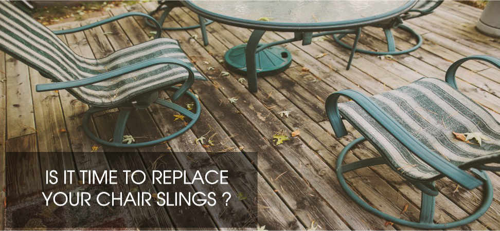 Old Chair Slings. REPLACE ...