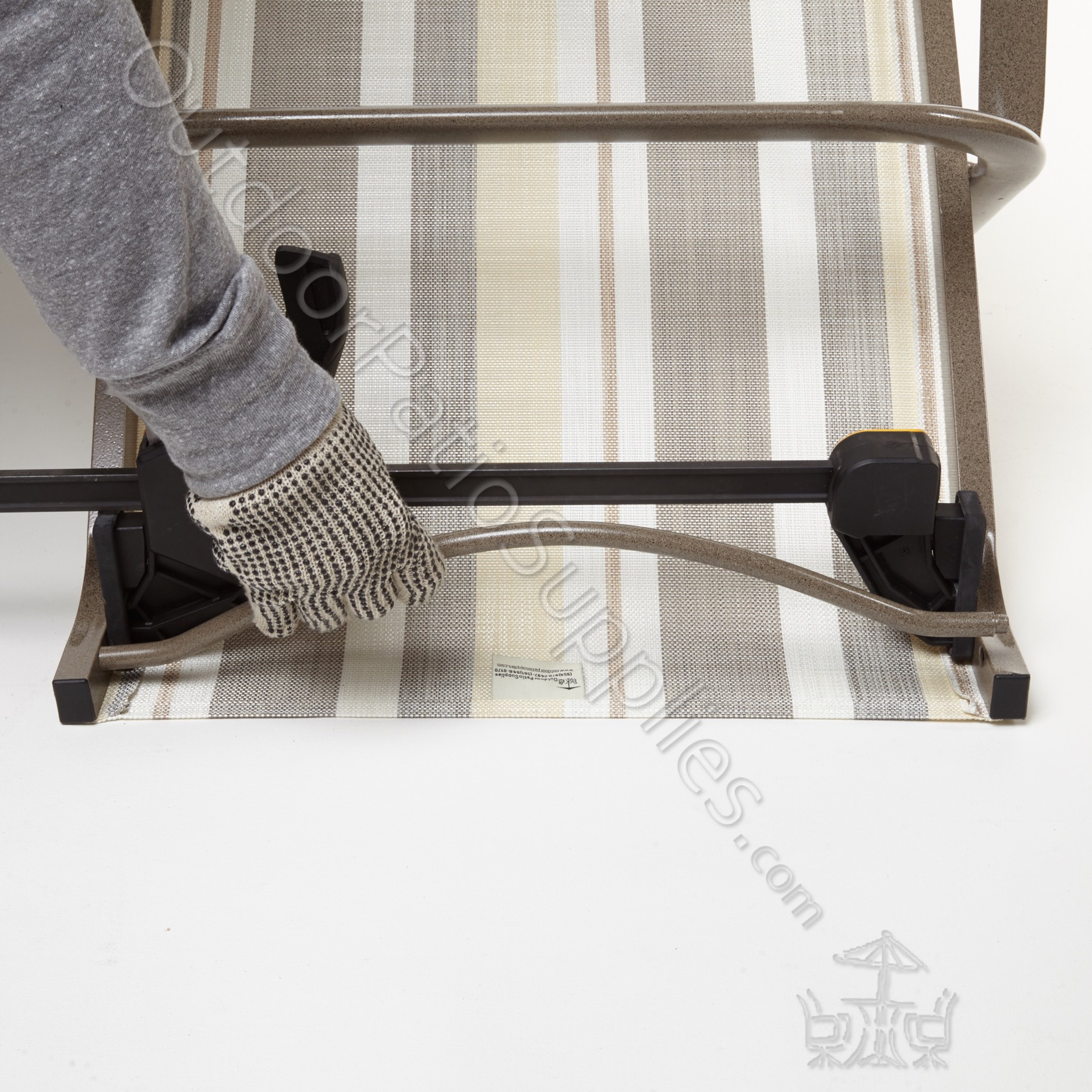 How To Install Chair Slings For Patio Furniture