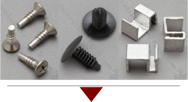 Rivets Clips And Screws For Patio Furniture